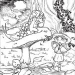Alice nel paese delle meraviglie, Brucaliffo