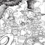 Alice nel paese delle meraviglie, Tè