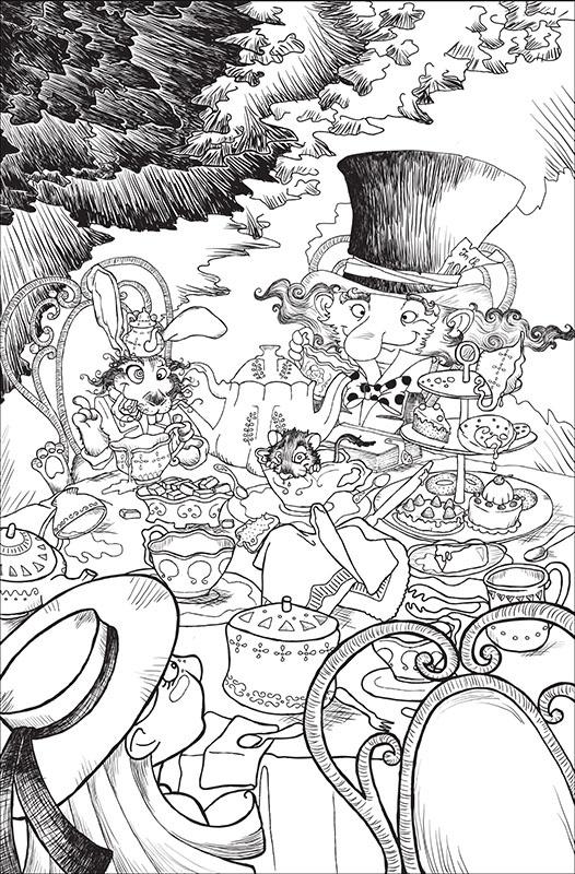 Tè con il Cappellaio matto e la Lepre Marzolina