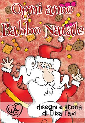 ebook illustrato Ogni anno Babbo Natale