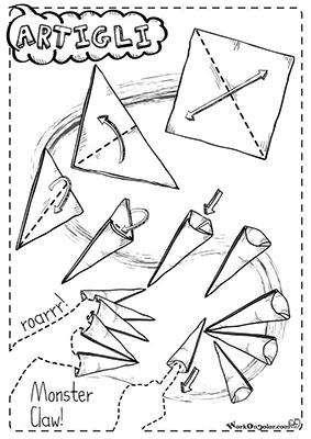 origami artigli