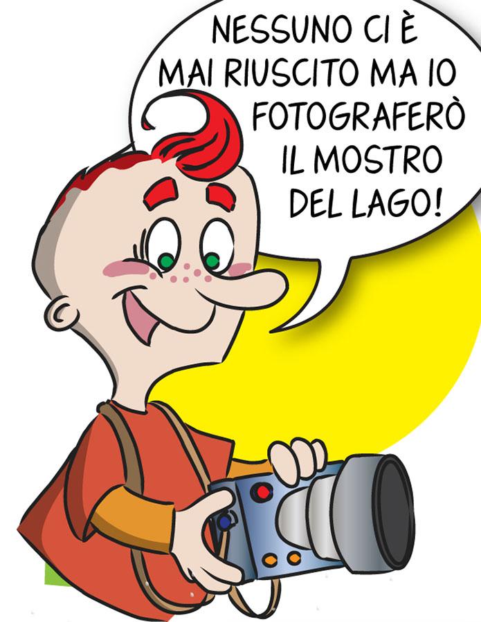 ebook per bambini Tito Diaframma e la foto del secolo